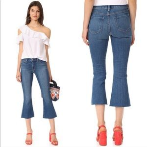 L'AGENCE cropped flare jeans Sz 27!